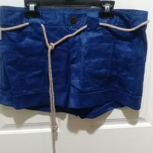 Banana Republic Belted Shorts